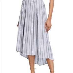 Max Studio skirt w/ tie wrap